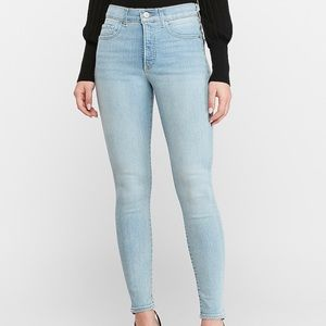 Express Ankle High Rise Jeans